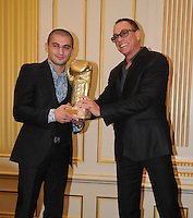 Jean-Claude Van Damme attends the Golden Gloves ceremony - Belgium