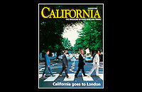 California - Magazine front cover - Abbey Road, St Johns Wood, NW8 - Summer 2000