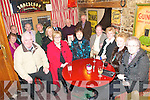 Ballydonoghue Parish Magazine Committee Outing : Celebrating the success of the launch of 2010 parish magazine at the Horseshoe Bar in Listowel on Friday night were in front: Jim Finnerty, Mary Kilgallon, Bridie Griffin, Sean Lynch, Margaret Gilbert & Maureen O'Donnell.. Back: Marian O'Connor, Connie Nolan, David Kissane, Johnny Bambury, Noelle Hegarty, Michael Finnucane, Mick Browne & Brendan Buckley.