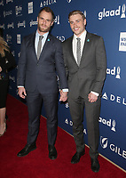 13 April 2018 - Beverly Hills, California - Gus Kenworthy, Guest. 29th Annual GLAAD Media Awards at The Beverly Hilton Hotel. Photo Credit: F. Sadou/AdMedia