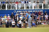 Ryan Fox (NZL) on the 18th during Round 3 of the Dubai Duty Free Irish Open at Ballyliffin Golf Club, Donegal on Saturday 7th July 2018.<br /> Picture:  Thos Caffrey / Golffile