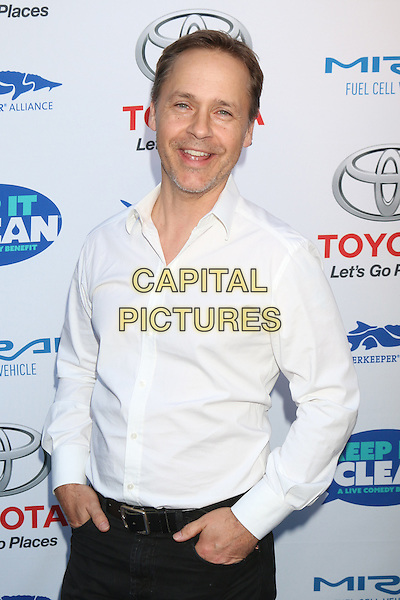 HOLLYWOOD, CA - APRIL 21: Chad Lowe at the Keep It Clean Comedy Benefit For Waterkeeper Alliance at Avalon on April 21, 2016 in Hollywood, California. <br /> CAP/MPI/DE<br /> &copy;DE/MPI/Capital Pictures
