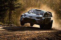 13th February 2020, Torsby base and Karlstad, Värmland County, Sweden; WRC Rally of Sweden, Shakedown event;  LATAVALA