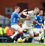 28.04.2019 Rangers v Aberdeen: Ryan Jack and Lewis Ferguson