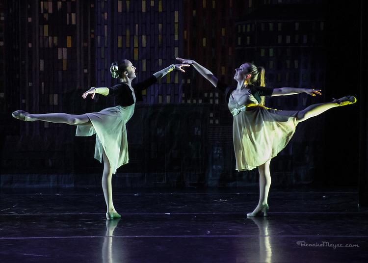 """3D Project Jazz Company, """"The Cracked Nut"""", Sun. Matinee Performance, 20 Dec. 2015, Cary Arts Center, Cary, North Carolina."""