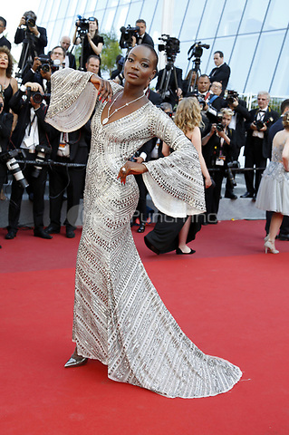 Miriam Odemba attending the closing-night of the 70th Cannes Film Festival at the Palais des Festivals on May 28, 2017in Cannes, France | Verwendung weltweit/picture alliance /MediaPunch ***FOR USA ONLY***