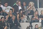 Abschiedsspiel Oliver Kahn - FC Bayern M&uuml;nchen vs. Deutsche Nationalmannschaft<br /> <br /> Franck Ribery (M&Yuml;nchen #7) und Guenther / G&uuml;nther Netzer<br /> <br /> Foto &copy; nph (  nordphoto  ) *** Local Caption ***