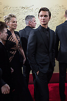 Nominated for BEST PERFORMANCE BY AN ACTOR IN A MOTION PICTURE &ndash; COMEDY OR MUSICAL for his role in &quot;Baby Driver,&quot; actor Ansel Elgort attends the 75th Annual Golden Globes Awards at the Beverly Hilton in Beverly Hills, CA on Sunday, January 7, 2018.<br /> *Editorial Use Only*<br /> CAP/PLF/HFPA<br /> &copy;HFPA/PLF/Capital Pictures