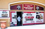 WSOP Entrance Branding