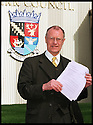 24th Mar 99                          Copyright Pic : James Stewart .Ref :  990175                         .File Name : stewart06-dennis canavan                        .DENNIS CANAVAN ARRIVES TO HAND IN HIS ELECTION PAPERS TO STAND AS AN INDEPENDANT CANDIDATE IN THE SCOTTISH PARLIAMENT ELECTIONS TO THE OFFICES OF FALKIRK COUNCIL TODAY 24TH MARCH 1999.....Payments to :-.James Stewart Photo Agency, Stewart House, Stewart Road, Falkirk. FK2 7AS      Vat Reg No. 607 6932 25.Office : 01324 630007        Mobile : 0421 416997.E-mail : JSpics@aol.com.If you require further information then contact Jim Stewart on any of the numbers above.........