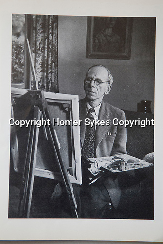 Thomas Saunders Nash artist from his Memorial catalogue held at Reading museum.
