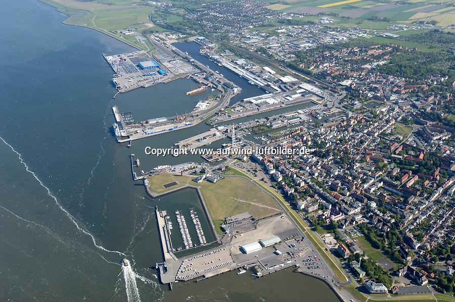 Deutschalnd, Niedersachsen, Cuxhafen, Elbe, Hafen, Hafenbecken