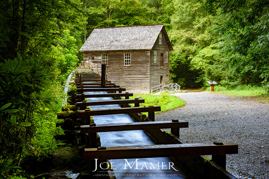 Mingus Grist Mill in Great Smoky Mountains National Park.