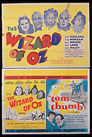 BNPS.co.uk (01202 558833)<br /> Pic: Burstow&amp;Hewett/BNPS<br /> <br /> Wizard of Oz and Tom Thumb films posters.<br /> <br /> A late film buff's collection of 400 vintage movie posters has emerged for auction and is tipped to sell for &pound;15,000.<br /> <br /> The collection was amassed by a man who worked for several decades at the Marble Arch Odeon cinema in London which in its heyday was one of the capital's flagship cinemas.<br /> <br /> He sadly died a couple of years ago but bestowed the posters - which once were on display in the cinema - to a life-long friend who has decided to put them on the market.<br /> <br /> Many of the posters are from classic film franchises including Star Wars and James Bond as well as iconic Disney films such as Snow White and the Seven Dwarfs and Cinderella.
