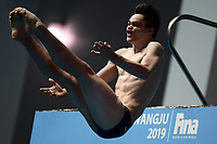 Lou Massenberg GER Germany <br /> Gwangju South Korea 19/07/2019<br /> Men's 10m Platform Preliminary <br /> 18th FINA World Aquatics Championships<br /> Nambu University Aquatics Center  <br /> Photo © Andrea Staccioli / Deepbluemedia / Insidefoto