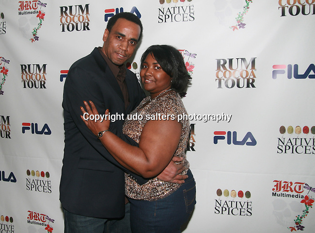 Guest and Cicely Attend Jocelyn Taylor's Birthday Celebration and Official Launch of JRT Multimedia, LLC (A Luxury Branding Company)at Nikki Beach Midtown, New York, 3/26/2011