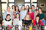 Staff from Centra, Ballyheigue, had a farewell dinner in Ballyroe Heights hotel, Tralee last Saturday evening for Isabell O'Connor and Cathriona Roche, (seated 2nd&3rd Lt) are leaving, also seated are Marie Horgan, Lt and Margaret Moriarty, Rt. Back L-R Patricia Reidy, Aisling Roche, Fiona Moriarty, Grainne Galway, Katie O'Halloran, Pauline Stack, Helen Casey, Romany Mahony&Cindy Chen.