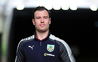 Burnley's Ashley Barnes arrives at the liberty stadium <br /> <br /> Photographer Ashley Crowden/CameraSport<br /> <br /> The Premier League - Swansea City v Burnley - Saturday 10th February 2018 - Liberty Stadium - Swansea<br /> <br /> World Copyright &copy; 2018 CameraSport. All rights reserved. 43 Linden Ave. Countesthorpe. Leicester. England. LE8 5PG - Tel: +44 (0) 116 277 4147 - admin@camerasport.com - www.camerasport.com
