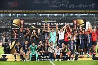 JOIE - TROPHEE - EQUIPE DE FOOTBALL DU PSG<br /> Shenzen <br /> 03/08/2019 Football Supercoppa di Francia 2019/2020 <br /> PSG Paris Saint Germain - Rennes <br /> Foto Philippe LECOEUR / Panoramic/insidefoto <br /> ITALY ONLY