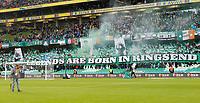 3rd November 2019; Aviva Stadium, Dublin, Leinster, Ireland; FAI Cup Final Football, Dundalk Football Club versus Shamrock Rovers; Shamrock Rovers supporters banners before kick off
