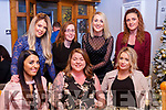 Enjoying New Year celebrations in Bella Bia, seated l-r, Aine Begley (Portugal), Melissa Donnelly (Canada) and  Siobhan Lynch (Tralee),. Back l to r, Sinead Scannell (Tralee), Sarah Dunn (Tralee), Mallory Higgins and Orla Begley.