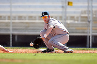 February 20, 2009:  First baseman Mike Nemeth (29) of the University of Connecticut during the Big East-Big Ten Challenge at Jack Russell Stadium in Clearwater, FL.  Photo by:  Mike Janes/Four Seam Images