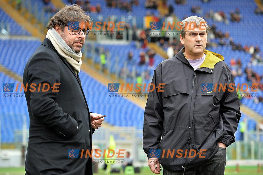 Giampietro Manenti (R), Pietro Leonardi Parma <br /> Roma 15-02-2015 Stadio Olimpico, Football Calcio Serie A AS Roma - Parma Foto Andrea Staccioli / Insidefoto