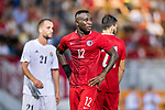 Alexander Oluwatayo Akande of Hong Kong during the International Friendly match between Hong Kong and Jordan at Mongkok Stadium on June 7, 2017 in Hong Kong, China. Photo by Marcio Rodrigo Machado / Power Sport Images