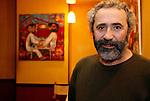 20080109 - France - Aquitaine - Pau<br /> PORTRAITS DE DIMITRI THEODORAKOPOULOS, SOUTIEN DE MARTINE LIGNIERES-CASSOU (PS) POUR LES ELECTIONS MUNICIPALES DE PAU EN 2008.<br /> Ref : DIMITRI_THEODORAKOPOULOS_008.jpg - © Philippe Noisette.