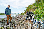 Environmentalist Jack O'Callaghan at the site of the old dump in Tralee.