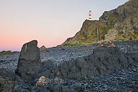 Dawn at Cape Palliser, Palliser Bay, Wellington Region, North Island, New Zealand, NZ