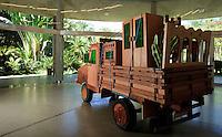 Brumadinho_MG, Brasil...Museu de Arte Contemporanea de Inhotim (CACI). Na Foto a obra de Marepe, A Mudanca, na galeria Fonte...The Inhotim Contemporary Art Museum (CACI). In this photo the art of Marepe, A Mudanca, in the Fonte gallery...Foto: BBRUNO MAGALHAES / NITRO