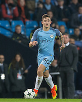 Pablo Maffeo of Manchester City during the UEFA Champions League GROUP match between Manchester City and Celtic at the Etihad Stadium, Manchester, England on 6 December 2016. Photo by Andy Rowland.