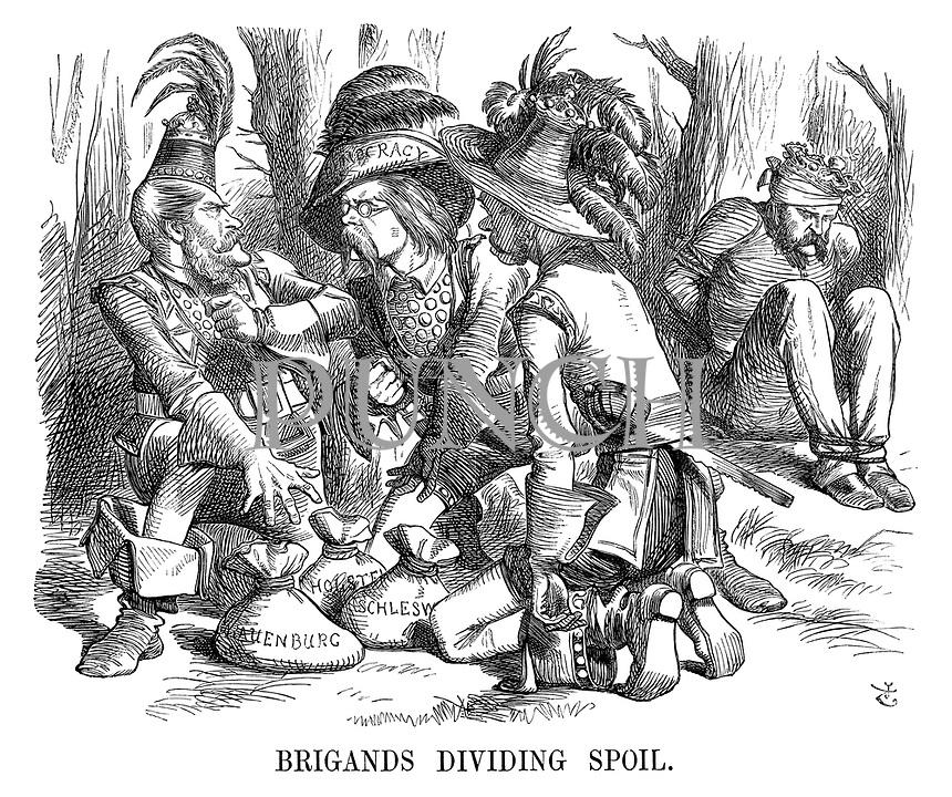 Brigands Dividing Spoil.