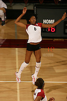 10 November 2005: Franci Girard during Stanford's 3-0 win over Arizona State at Maples Pavilion in Stanford, CA.
