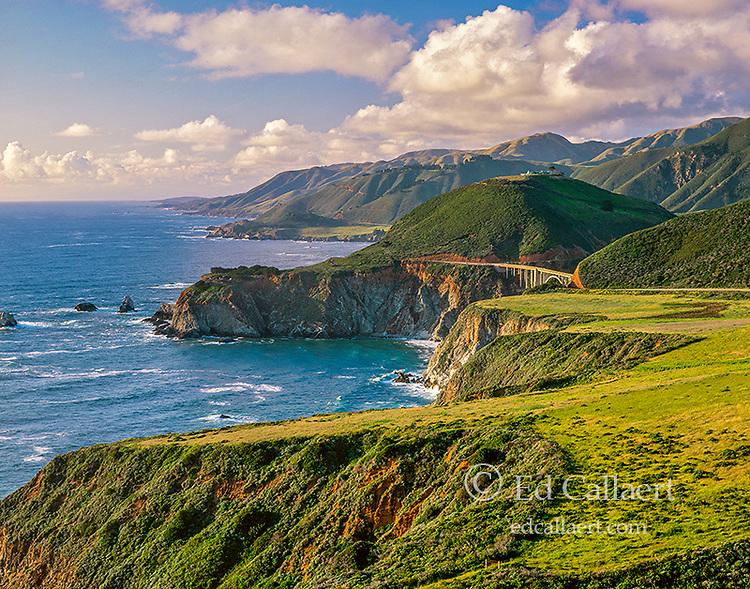 Bixby Bridge, Highway 1, Big Sur, Monterey County, California