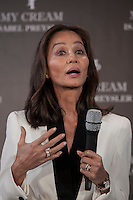 Isabel Preysler presents `My cream´