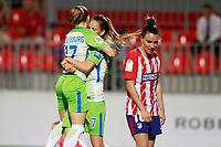VfL Wolfsburg's Ewa Pajor (l) and Sara Bjork Gunnarsdottir celebrate goal during UEFA Womens Champions League 2017/2018, 1/16 Final, 1st match. October 4,2017. (ALTERPHOTOS/Acero) /NortePhoto.com /NortePhoto.com
