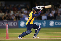 Tom Westley in batting action for Essex during Essex Eagles vs Somerset, Vitality Blast T20 Cricket at The Cloudfm County Ground on 7th August 2019