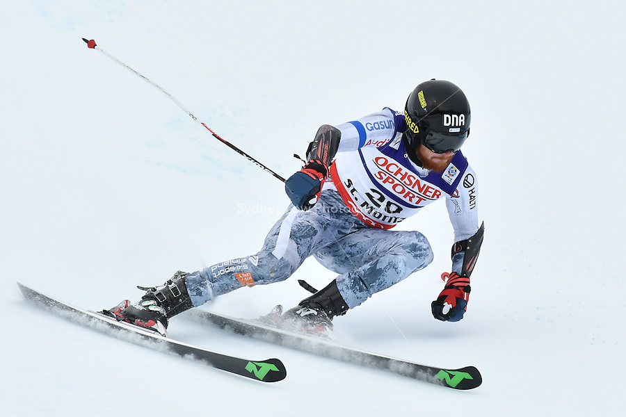 February 17, 2017: Krystof KRYZL (CZE) competing in the men's giant slalom event at the FIS Alpine World Ski Championships at St Moritz, Switzerland. Photo Sydney Low