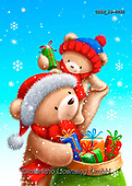 Roger, CHRISTMAS ANIMALS, WEIHNACHTEN TIERE, NAVIDAD ANIMALES, paintings+++++,GBRM19-0095,#xa#