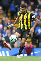 Troy Deeney of Watford in action during Chelsea vs Watford, Premier League Football at Stamford Bridge on 5th May 2019