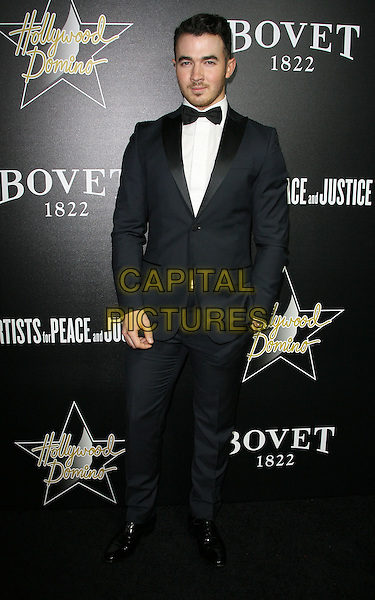 27 February 2014 - West Hollywood, California - Kevin Jonas. Hollywood Domino&rsquo;s 7th Annual Pre-Oscar Charity Gala held at Sunset Tower Hotel. <br /> CAP/ADM/<br /> &copy;AdMedia/Capital Pictures