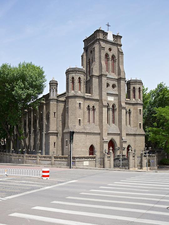 Cathedral Notre Dam des Victories, Tianjin (Tientsin).