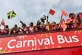 London, UK. 24 August 2014. Notting Hill Carnival 2014 gets underway.