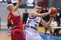 Spain Albert Oliver and Slovenia Zan Mark Sisko during FIBA European Qualifiers to World Cup 2019 between Spain and Slovenia at Coliseum Burgos in Madrid, Spain. November 26, 2017. (ALTERPHOTOS/Borja B.Hojas) /NortePhoto NORTEPHOTOMEXICO