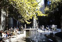 New York City: Museum of Modern Art--Sculpture Garden. Philip Johnson.