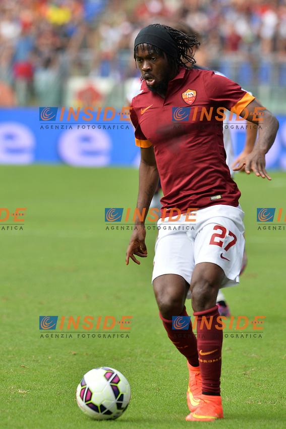 Gervinho Roma.<br /> Roma 21-09-2014 Stadio Olimpico. Football Calcio 2014/2015 Serie A. AS Roma - Cagliari. Foto Antonietta Baldassarre / Insidefoto
