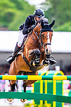 Day 5. Royal Windsor Horse Show. Windsor. Berkshire. UK.Rolex Grand Prix.CSI5*. William Whitaker riding Utamaro D Ecaussines. GBR. 13/05/2018. ~ MANDATORY Credit Elli  Birch/Sportinpictures - NO UNAUTHORISED USE - 07837 394578