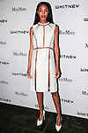 Model Jourdan Dunn attends the annual Whitney Art Party hosted by the Whitney Contemporaries, and sponsored by Max Mara, at Skylight at Moynihan Station on May 1, 2013.